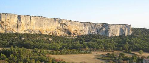 Falaise de la Madeleine at Lioux