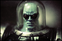 Mr. Freeze (ElDave) Tags: macro toy toys actionfigure dc gross batman rogue dccomics villain sneeze mrfreeze dudeyoucantwipethatoff