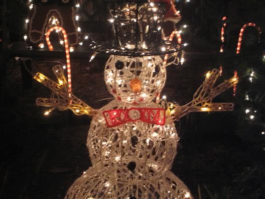 Carroll Gardens Snowman