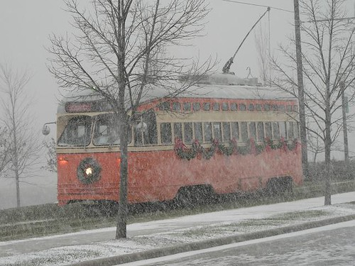 Orange Streetcar