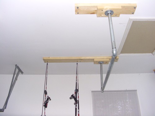 pull up bar basement beams pull up bar mounted on joists