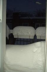 Première tempête de l'hiver à Montréal