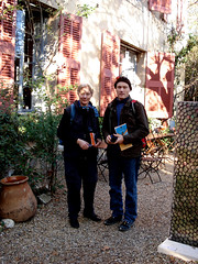 Helen & Andrew in Cezanne's garden (bleakheath) Tags: france marseille provence calanques