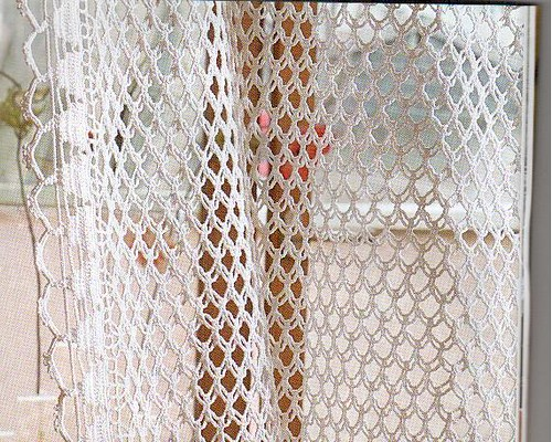 ... : Crochet Curtain Pattern Curtain Patterns Crochet stitches