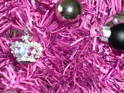 Pink Xmas Tree Detail