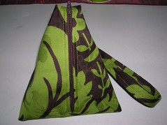 The P3 - Pyramid Project Pouch (front view)
