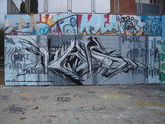 hall of fame barcelona (Pasota.com) Tags: barcelona street streetart art sol graffiti lucy spain slice anser deam morta panor daeil