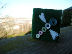 Dragonfly Needle Book