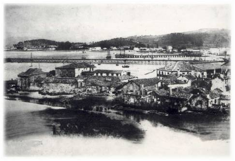 Vista xeral de Vilagarcía