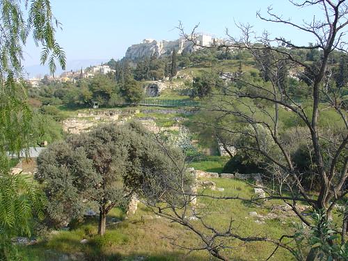 Acropolis in  Athen, Greece