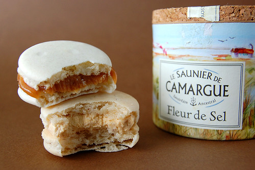 Salted Caramel Macarons