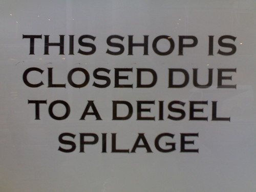 Shop closed