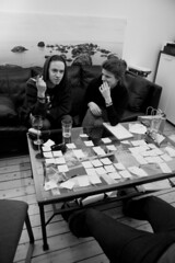 Meeting (Andreas Fabbe) Tags: project notes sofia meeting final erik arwid