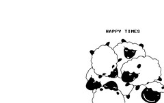 happy time sheep 1280 x 800