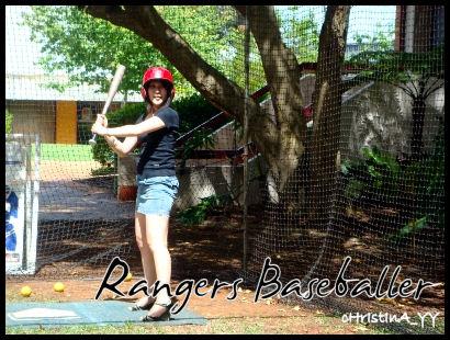 Rangers Baseballer