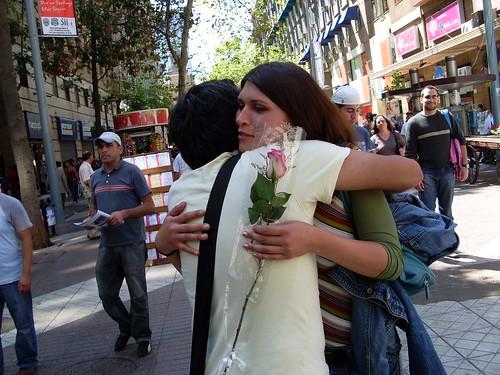 Abrazos Gratis Día de la Mujer