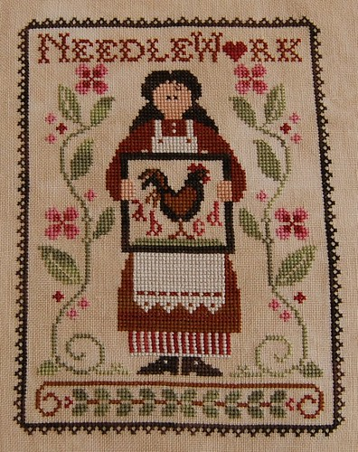 "Little House Needleworks ""My Needle's Work"""