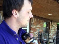 BIG cuddle (c_1_b) Tags: dogs kids peanut tgif