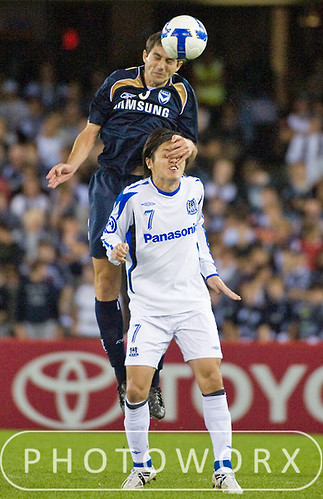 Soccer - AFC Champions League - Gamba Osaka defeated Melbourne Victory 4-3 at Telstra Dome, Victoria