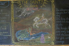 St George (whitt) Tags: saint george waldorf blackboard steiner