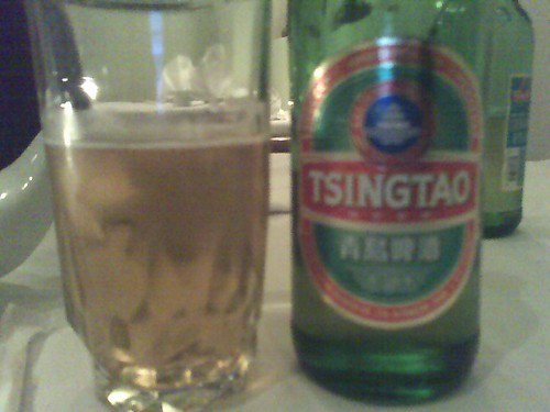 TsingTao at Mustard Greens