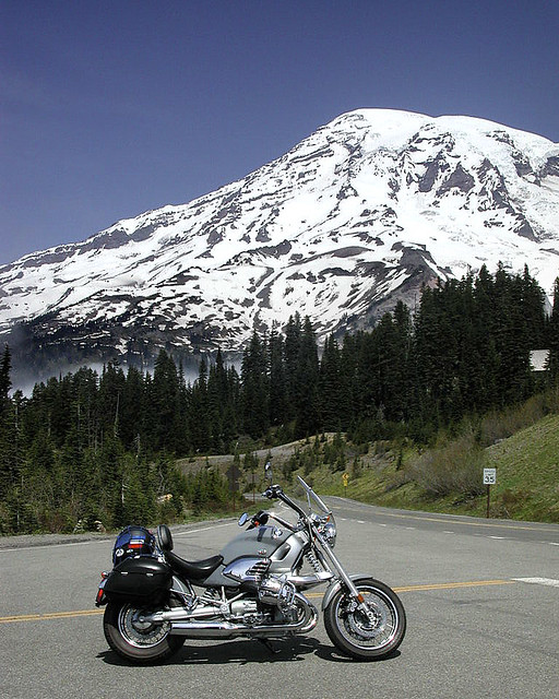 Mt Rainier on 2 Wheels