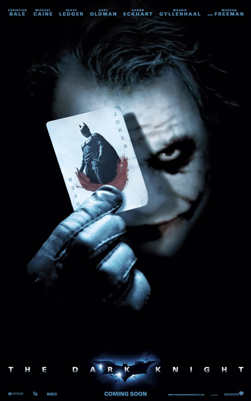 Batman the Dark Knight Int. Poster 3