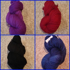 Tess sock yarns from MDS&W