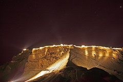 Masada Sound & Light show   מצדה חזיון אור וקול (A   M) Tags: show light mer rock analog de evening la israel mar meer desert top plateau den performance el an unesco morte sound tuesday desierto wars thursday fortress dem eight zona isolated zone rael romans wüste judea zu désert מצדה muerto thirty metzada toten israël 이스라엘 אור יהודה шоу jüdisch anzeigen bereich מדבר אתר audiovisuales judée new7wonders הקנאים audiovisuelle אונסקו מדברי המורדים חזיון וקול 땅에 מורשת metzuda עולמית audiovisulal аудиовизуальной יוספוס פלבייוס 포트 fromמצודה אחרוני 山据点 חיזיון