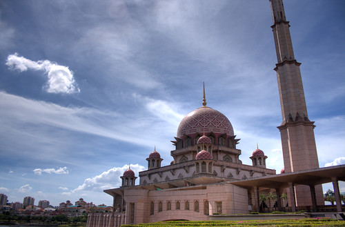 putrajaya mosque HDR