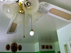 ceiling fan before (stinkycretingurl) Tags: home fan decoration thrift makeover redo