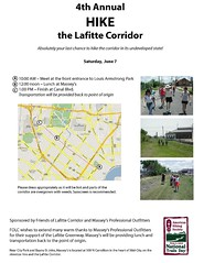 Hike the Lafitte Corridor Flyer