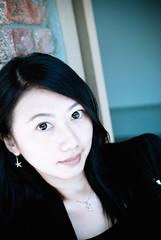DSC_8075 (junne396) Tags: blue portrait beauty face asian shot dream an     skybeauty