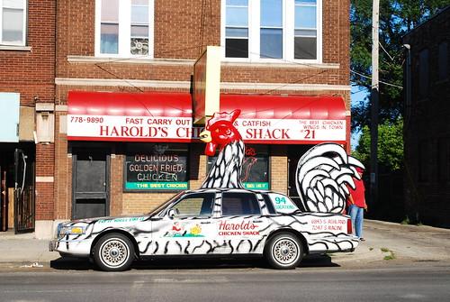 Harold S Chicken Car Chicago