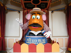 Mr. Potato Head at Disney's California Adventure Park