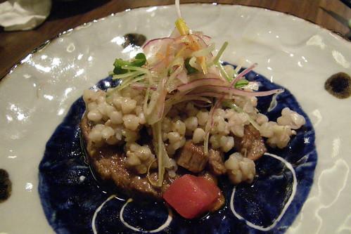 [吃] 心月 (12)_蕎麥子與牛肉