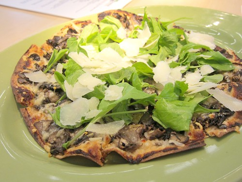 "Wild Mushroom Truffle ""Pizza"""