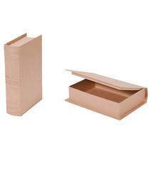 Paper mache book box