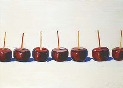 Wayne Thiebaud, 7 Candied Apples, 1963, Sold for $2,032,000 at Christie's May 9 2006