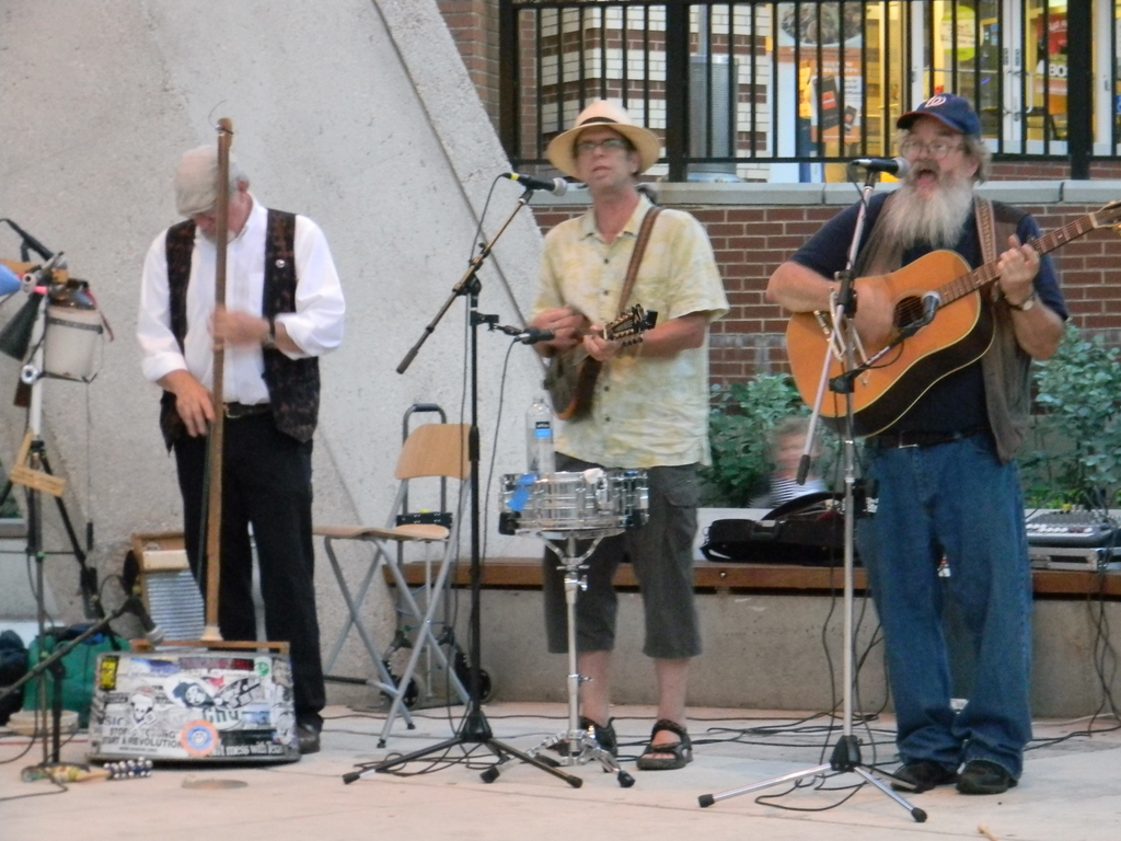 Snakehead Run Plays Silver Spring's Veterans Plaza