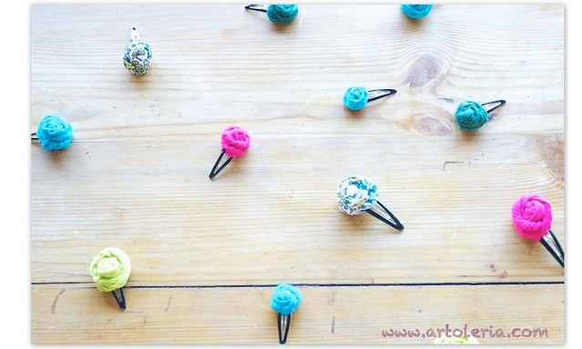 roselline clips stoffa