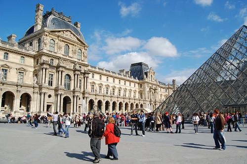 羅浮宮一角