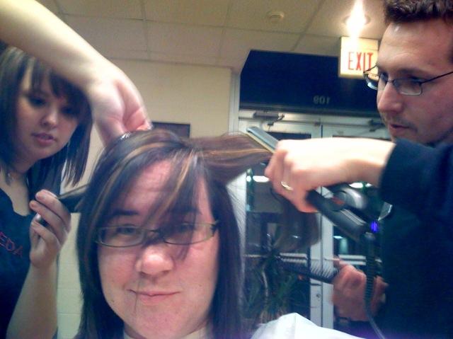 Hair remodel