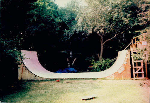 Our half-pipe