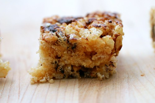 caramelized brown butter rice krispie treats | smitten kitchen