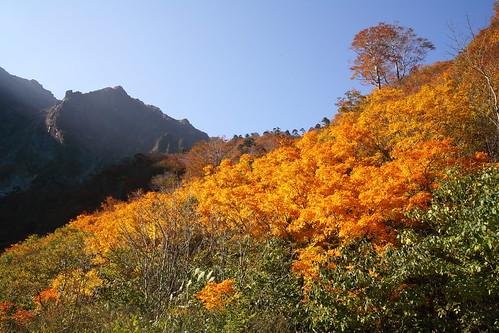 一の倉沢の秋4