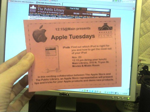 Apple Tuesdays