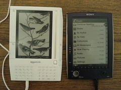 Amazon Kindle & Sony eBook by jblyberg