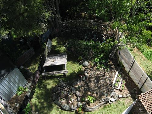 front garden polecam