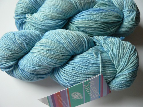 fleece artist sky blue